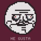 Me Gusta Meme Pixel Art by jaredfin