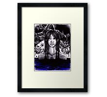 Lady of the Swamp Framed Print
