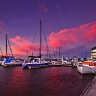 Seaport Sunset by JasonLStephens
