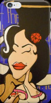 Saint Winehouse by Ashboogeydotcom