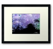 A Walk To The Moon... Framed Print