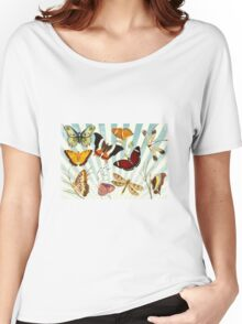 Vintage Butterfly poster Women's Relaxed Fit T-Shirt