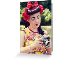 50s Lauren II Greeting Card