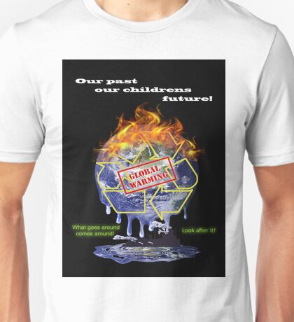 Global warming shirt from D.W.Arts Unisex T-Shirt