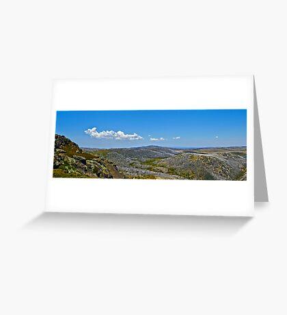 The Bogong High Plains Greeting Card
