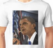 Barack Obama: Commander in Chief of Coolness & Badassery Unisex T-Shirt