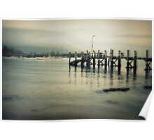 The Pier at Belmore Basin Poster