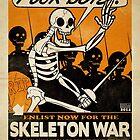 Skeleton War by dootspook