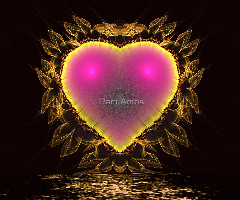 Lace Heart by Pam Amos