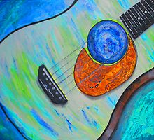 World in a Guitar by Melody Hall-Fuller