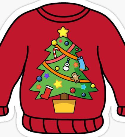 Christmas Sweater Sticker
