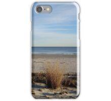 Off-Season at the Beach iPhone Case/Skin
