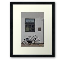 Bicycle Parking Only Framed Print