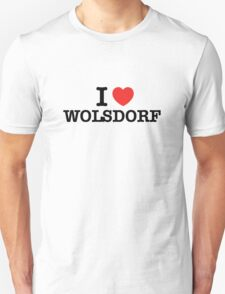 I Love WOLSDORF T-Shirt