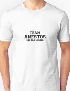Team ANESTOS, life time member T-Shirt