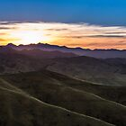 Sunset over The Wither Hills by srhayward