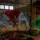 Unicorn Graffiti by Michael Sanders