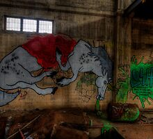 Unicorn Graffiti by Michael Sanders