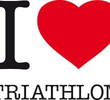 I ♥ TRIATHLON by eyesblau