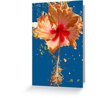 Happy Hibiscus Greeting Card