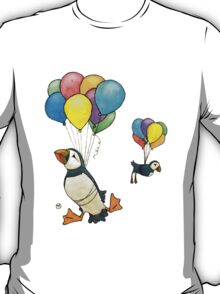The Puffins Are Getting Carried Away T-Shirt