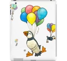 The Puffins Are Getting Carried Away iPad Case/Skin