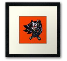 Blackwing - Armor Master Icon - Yugioh! Framed Print