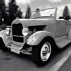 Hot Rod (Monochrome) by Stephen Mitchell