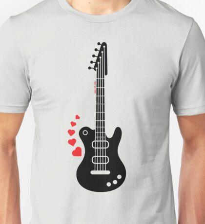 A Guitar for a Love Serenade Unisex T-Shirt