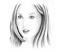 Karen Gillan portrait Photographic Print