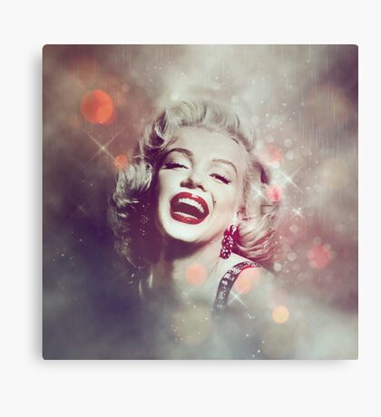 Marilyn the Diva  Canvas Print