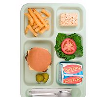 Lunch Tray Iphone case by demaiod167