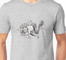 The Ram skull and bird Unisex T-Shirt