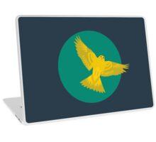 Canary in Flight Laptop Skin