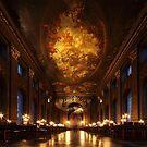 Painted Hall, Old Royal Naval College by Irina Chuckowree
