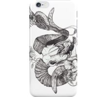 The Ram skull and bird iPhone Case/Skin