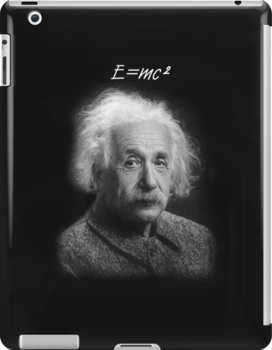 E=mc2 iPad Case by Catherine Hamilton-Veal  ©