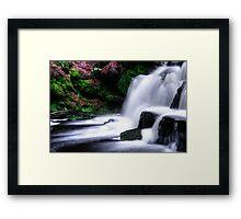 Pentland Falls Framed Print