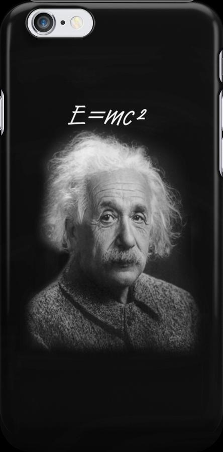 E=mc2 iPhone Case by Catherine Hamilton-Veal  ©