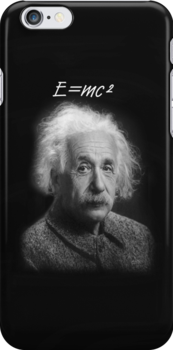 E=mc2 iPhone Case by Catherine Hamilton-Veal  ©