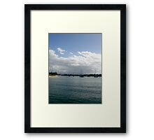 Giants in our Waters Framed Print