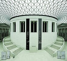 The British Museum. Panorama of the Great Court. by Irina Chuckowree
