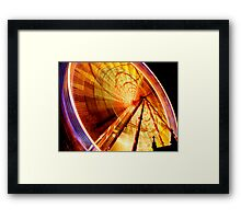 Christmas Wheel Framed Print