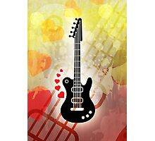 A Guitar for a Love Serenade Photographic Print