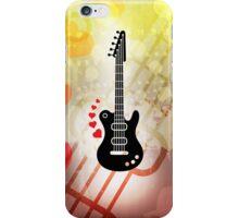 A Guitar for a Love Serenade iPhone Case/Skin