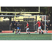093012 186 colored pencil soccer Photographic Print