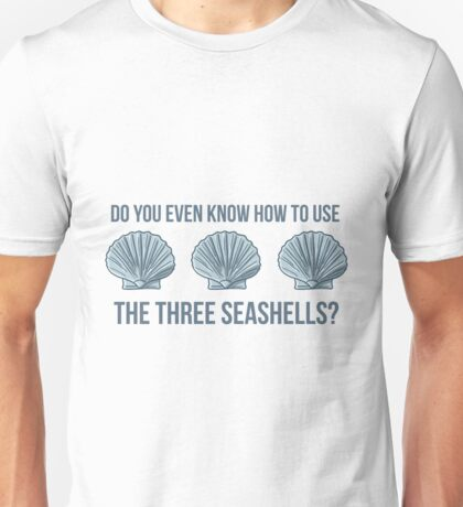 Three Seashells Unisex T-Shirt