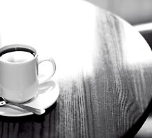 If you'll excuse me a minute... I'm going to have a cup of coffee... ☕ by Gregoria  Gregoriou Crowe