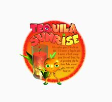 Tequila Sunrise adult drink by Valxart Unisex T-Shirt