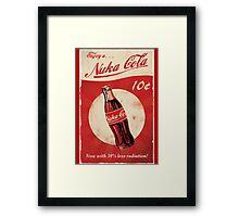 Fallout 4 - Nuka Cola - Logo Framed Print
